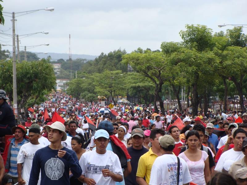 """30e anniversaire du """"Triunfo de la Revolucion Sandinista"""" 19-07-10"""