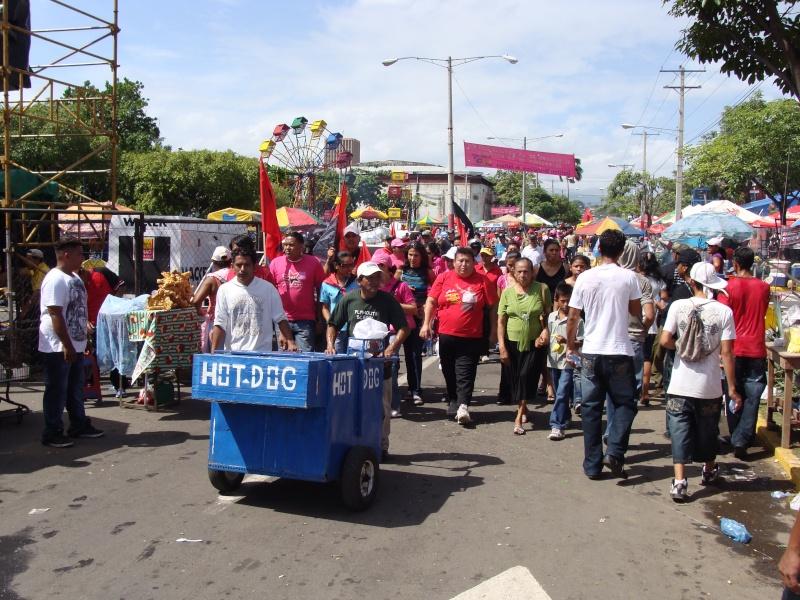 """30e anniversaire du """"Triunfo de la Revolucion Sandinista"""" 19-07-11"""