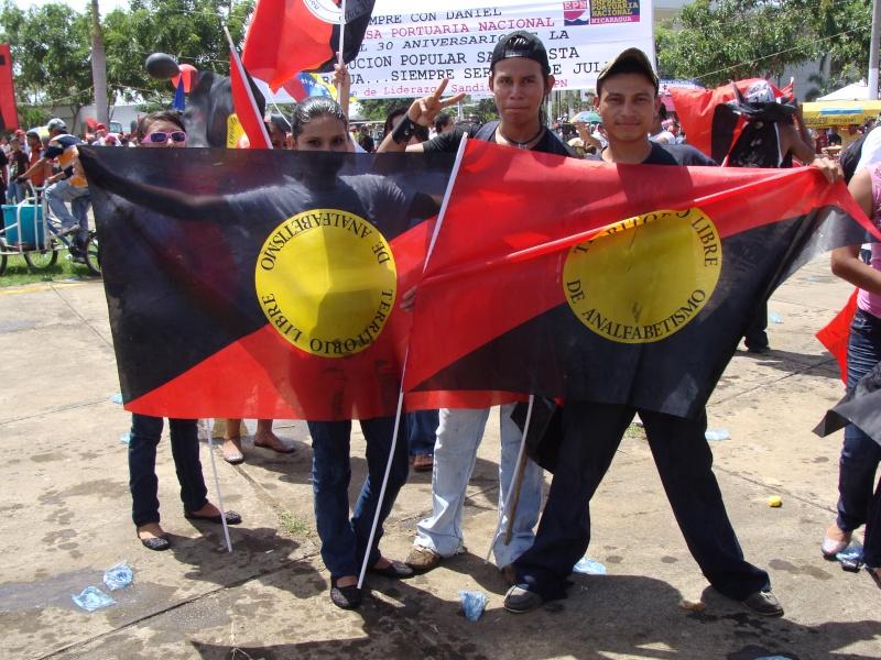 """30e anniversaire du """"Triunfo de la Revolucion Sandinista"""" 19-07-12"""
