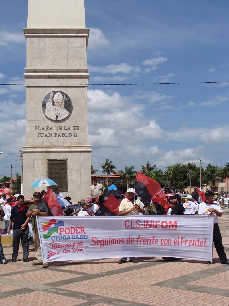 """30e anniversaire du """"Triunfo de la Revolucion Sandinista"""" 19-07-13"""
