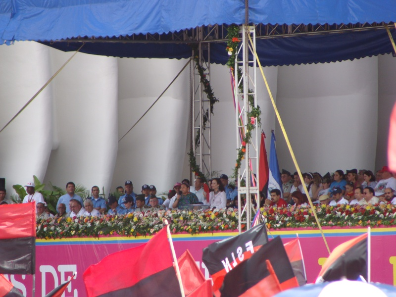 """30e anniversaire du """"Triunfo de la Revolucion Sandinista"""" 19-07-14"""