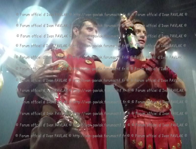 Cléopâtre : Ivan en Brutus P1000411