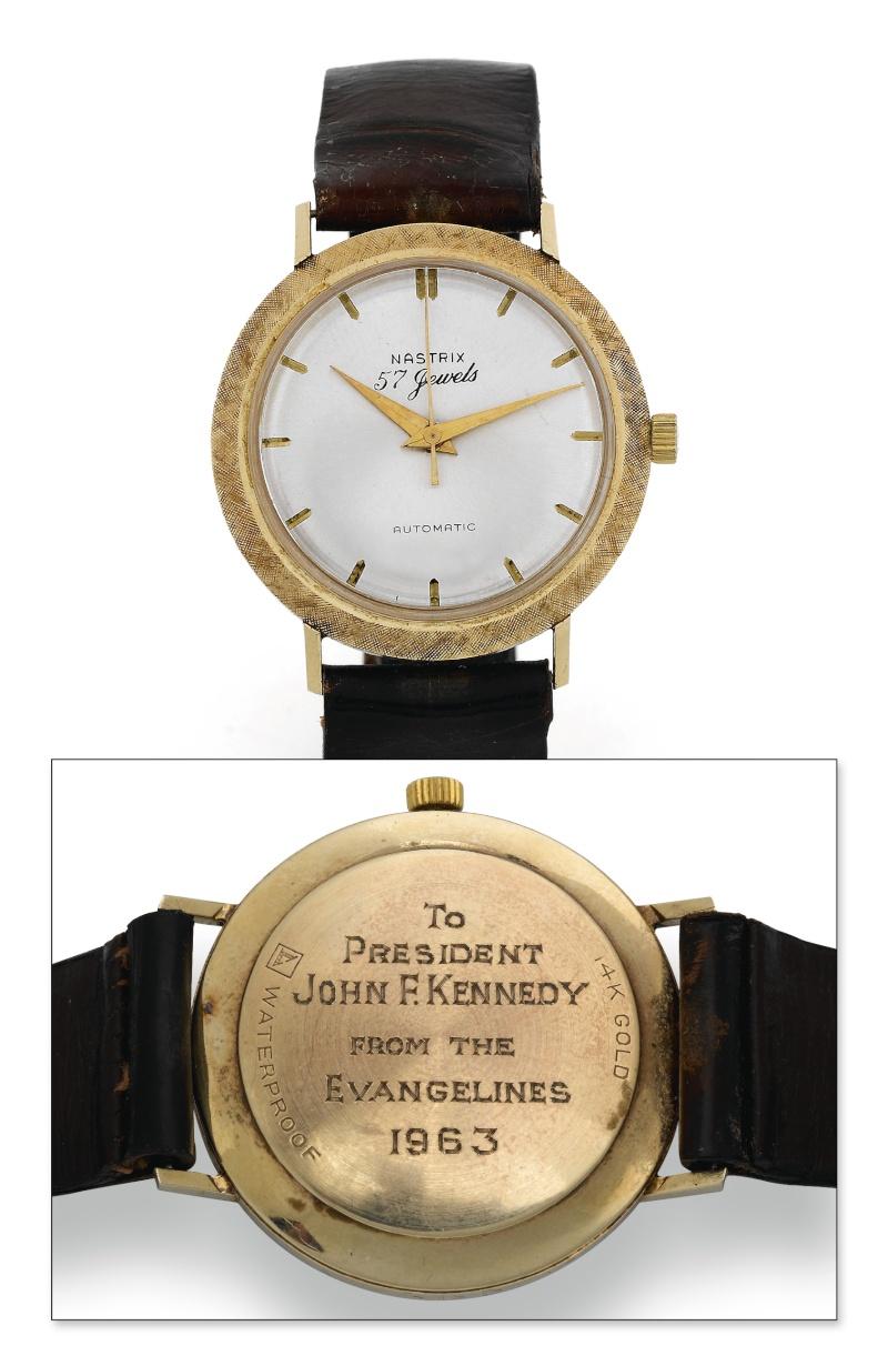 La montre des Grands Hommes [historique] Jfk10