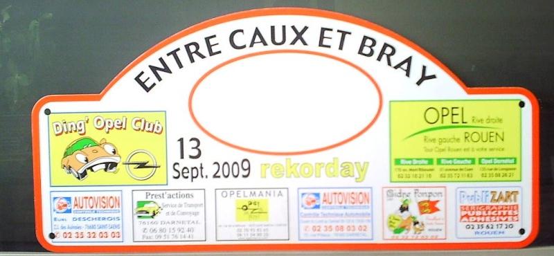 """le 13 septembre 2009, rallye du DOC """" Entre Caux et Bray""""et Rekorday - Page 2 Plaque10"""