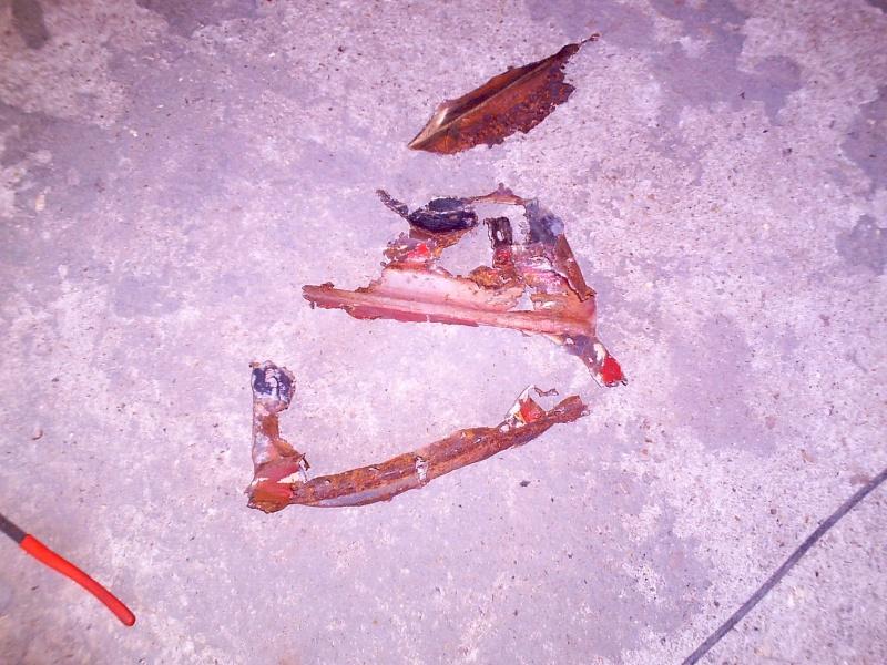 rouille trous rebouchage soudure....sauvetage du delvan Travau17