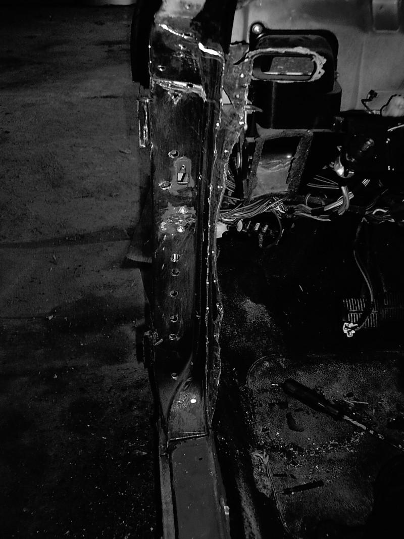 rouille trous rebouchage soudure....sauvetage du delvan Travau28