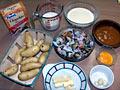 Parmentier de fruits de mer gratiné 1122