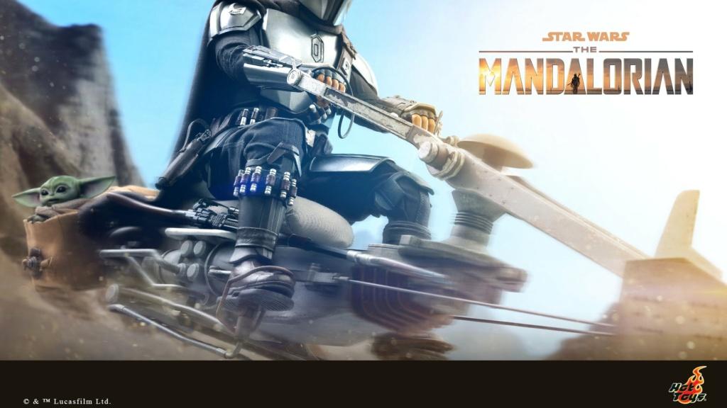 The Mandalorian Beskar Armor & Speeder 1/6 scale - Hot Toys 0014