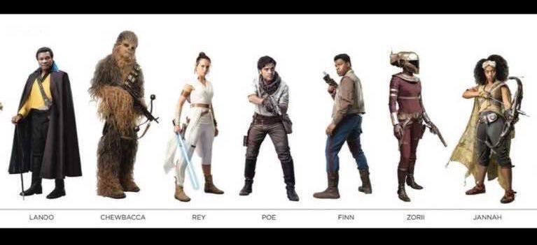 9 - Les RUMEURS de Star Wars IX - The Rise Of Skywalker - Page 3 0114