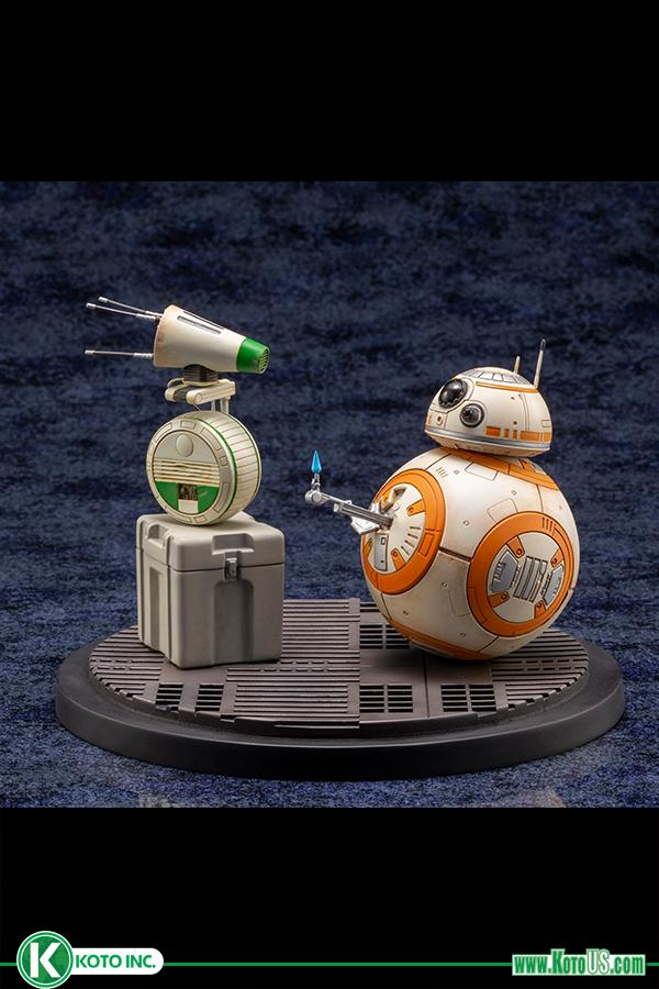 Star Wars BB-8 & D-0 ARTFX Statue - Kotobukiya 0118