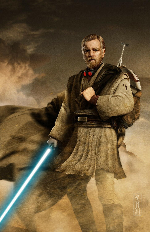 Teaser Trailer Poster Video FanMade Star Wars Kenobi 0128
