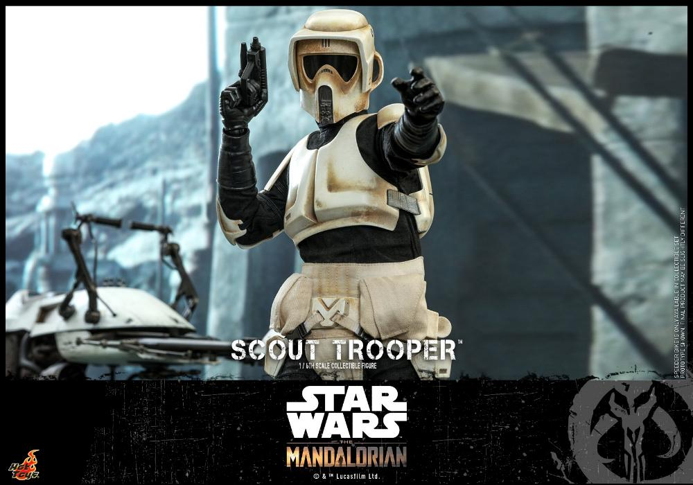 Scout Trooper Collectible Fig - 1/6 - Mandalorian Hot Toys 0131