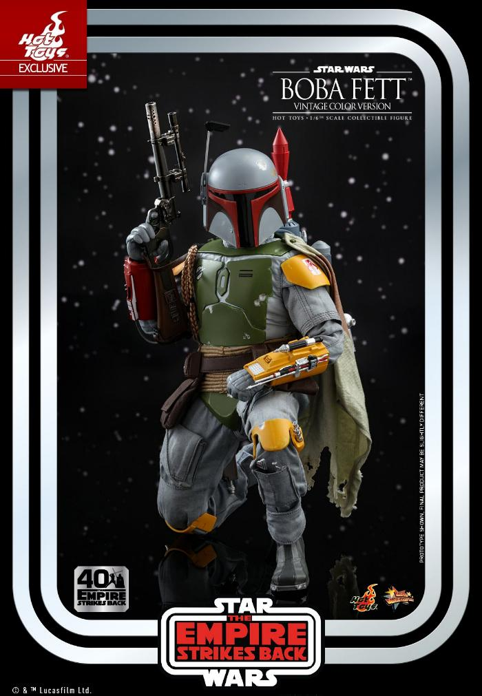 Boba Fett - 1/6th scale (Vintage Color Version) Hot Toys 0134