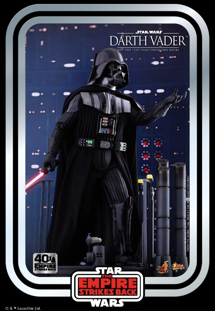 Darth Vader The Empire Strikes Back - 1/6th scale Hot Toys  0136