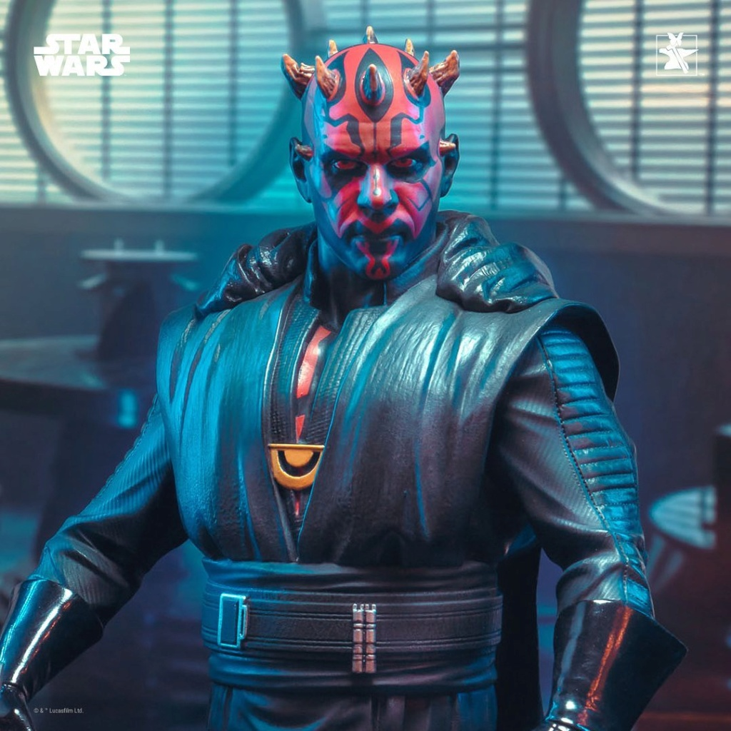 Dark Maul Solo A StarWars Story Mini Bust - Gentle Giant 0140