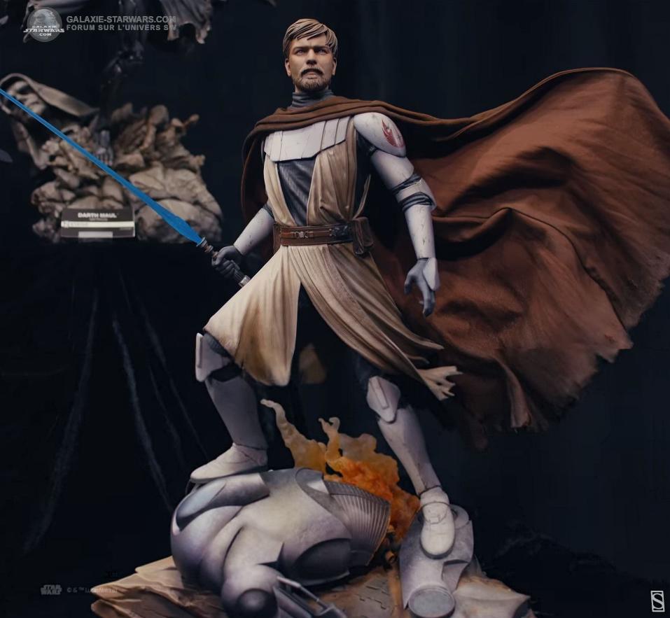 General Obi-Wan Kenobi Mythos Statue - Sideshow 0141