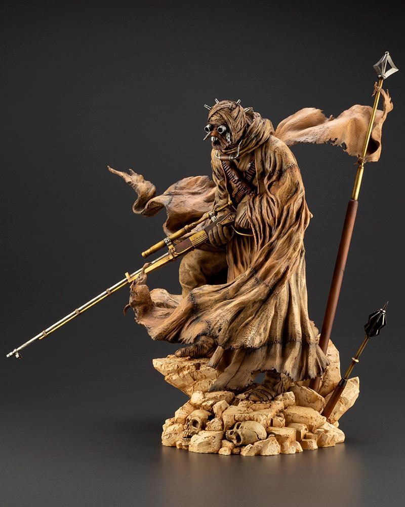 Tusken Raider Barbaric Desert Tribe ARTFX Artist Kotobukiya 0143