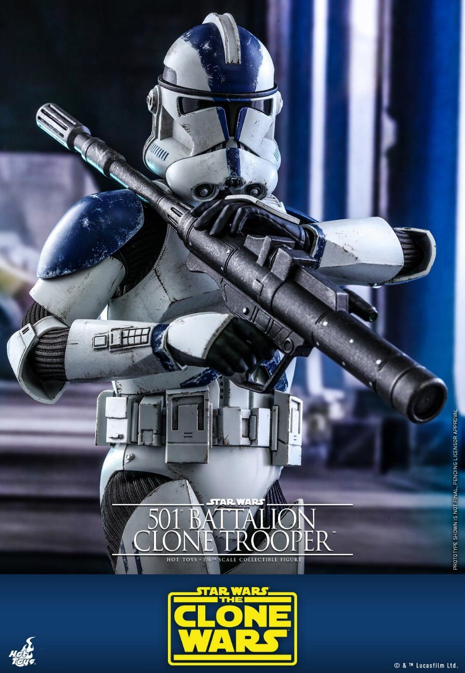 501st Battalion Clone Trooper - The Clone Wars - Hot Toys 0145