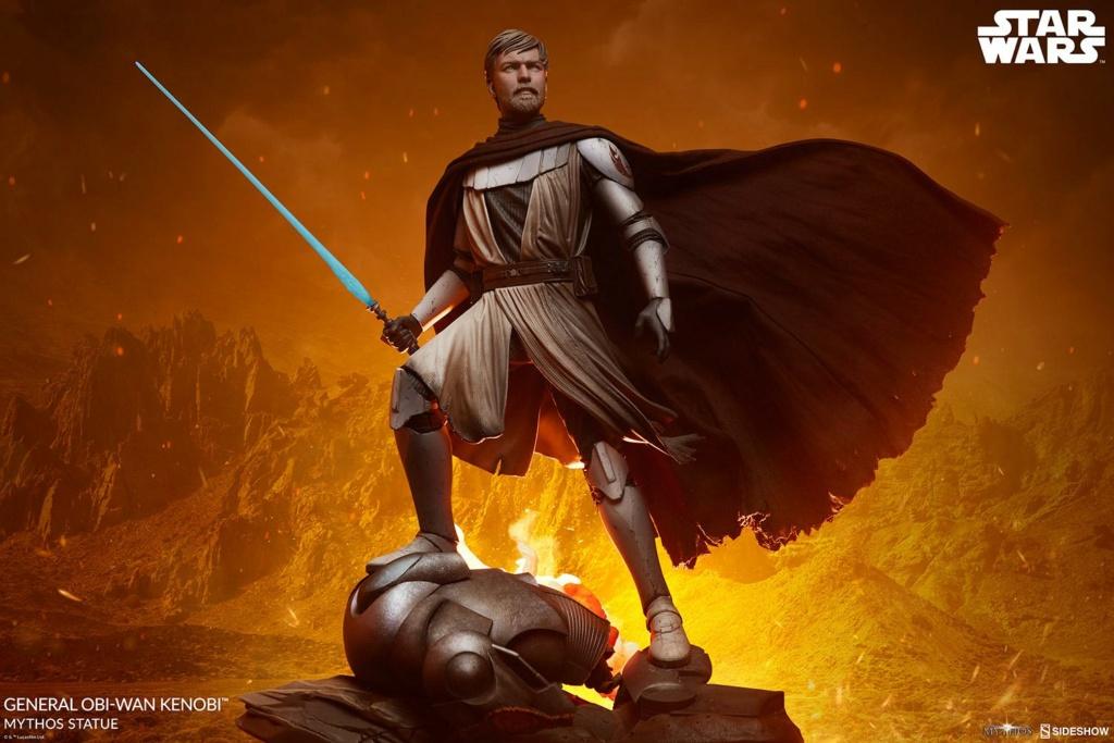 General Obi-Wan Kenobi Mythos Statue - Sideshow 0148