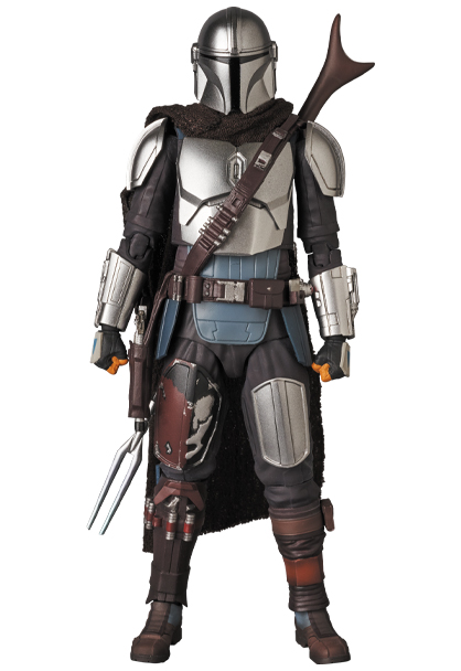 The Mandalorian Beskar Armor & The Child Figure - Medicom 0148_210