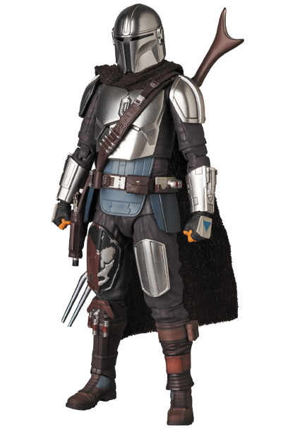 The Mandalorian Beskar Armor & The Child Figure - Medicom 0149_210