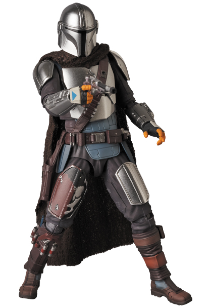 The Mandalorian Beskar Armor & The Child Figure - Medicom 0155_210