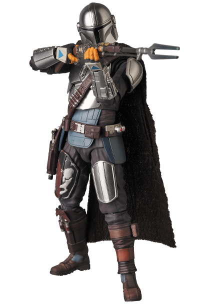 The Mandalorian Beskar Armor & The Child Figure - Medicom 0156_210