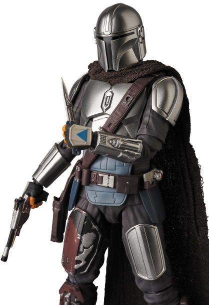 The Mandalorian Beskar Armor & The Child Figure - Medicom 0160_210