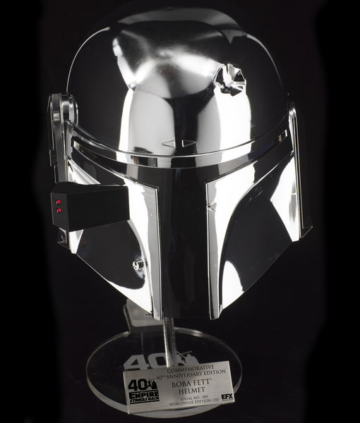Boba Fett Helmet - 40th Anniversary Commemorative - EFX  0210