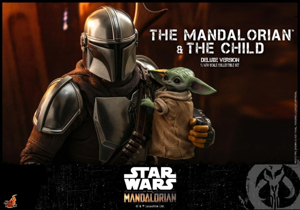 The Mandalorian & The Child Set - 1:6 - Hot Toys Star Wars 0224