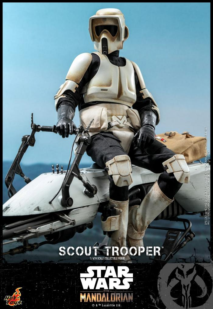 Scout Trooper Collectible Fig - 1/6 - Mandalorian Hot Toys 0229