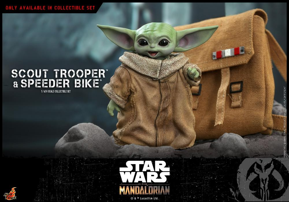 Scout Trooper & Speeder Bike Set 1/6 - Mandalorian - Hot Toy 0230