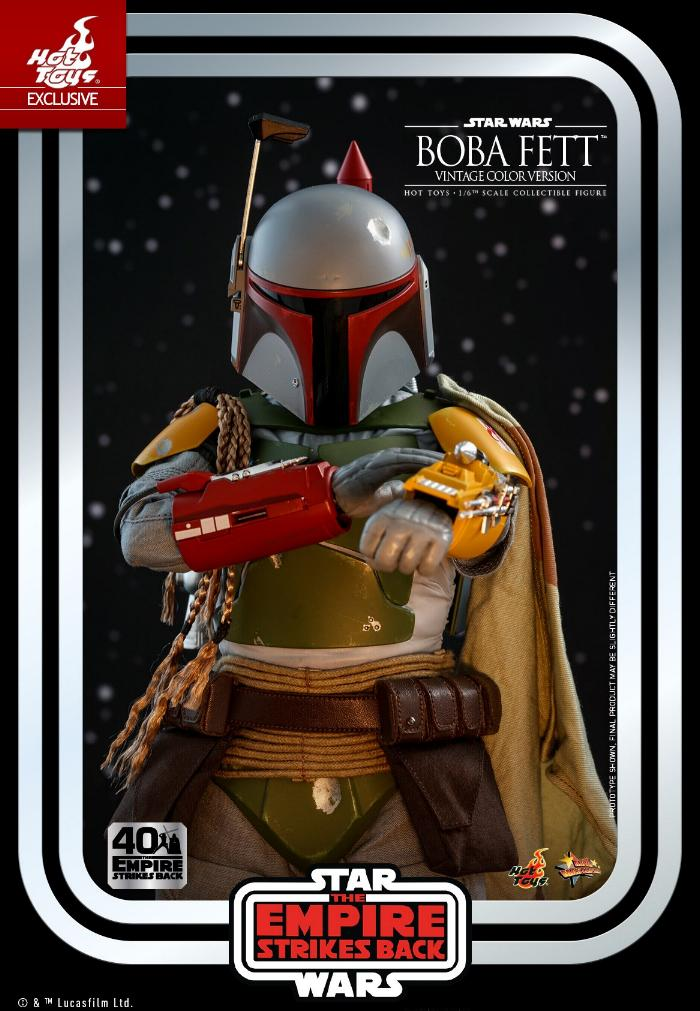 Boba Fett - 1/6th scale (Vintage Color Version) Hot Toys 0232