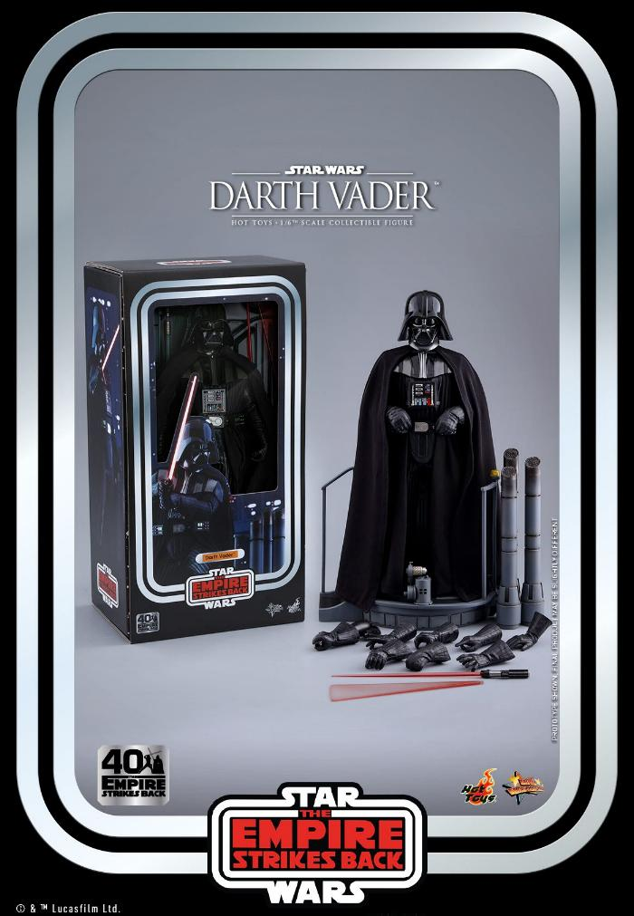 Darth Vader The Empire Strikes Back - 1/6th scale Hot Toys  0234