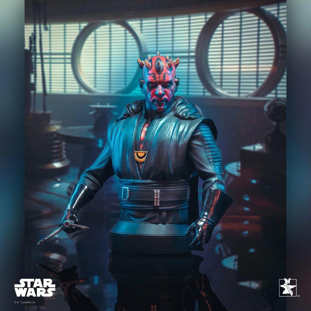Dark Maul Solo A StarWars Story Mini Bust - Gentle Giant 0238