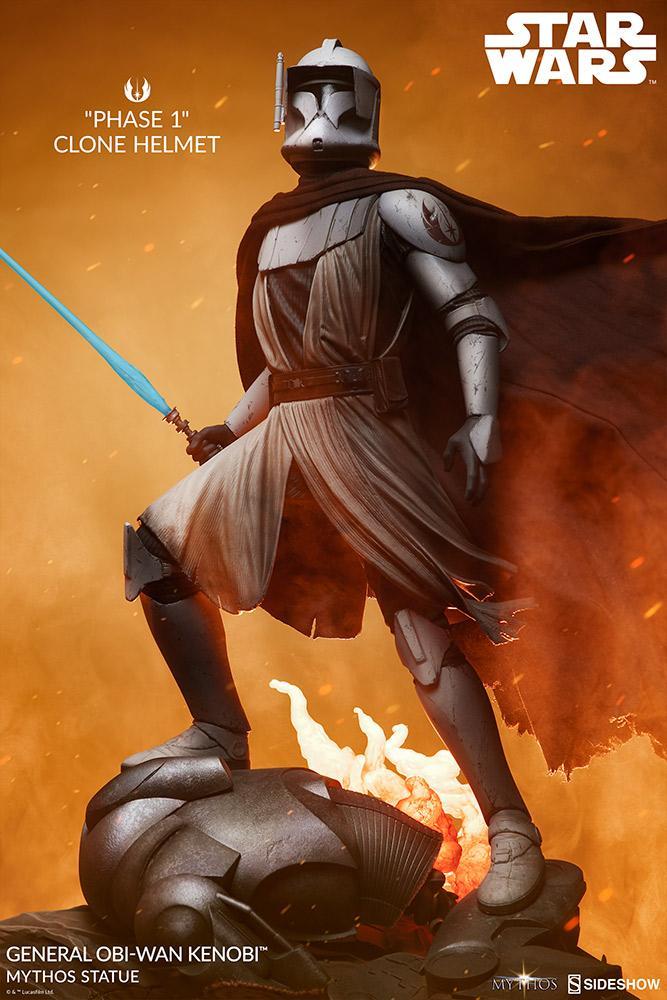 General Obi-Wan Kenobi Mythos Statue - Sideshow 0245