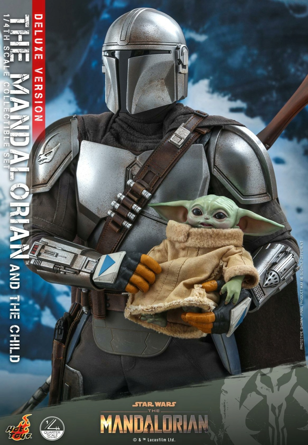 The Mandalorian & The Child Set (Deluxe) 1/4th - Hot Toys 0253
