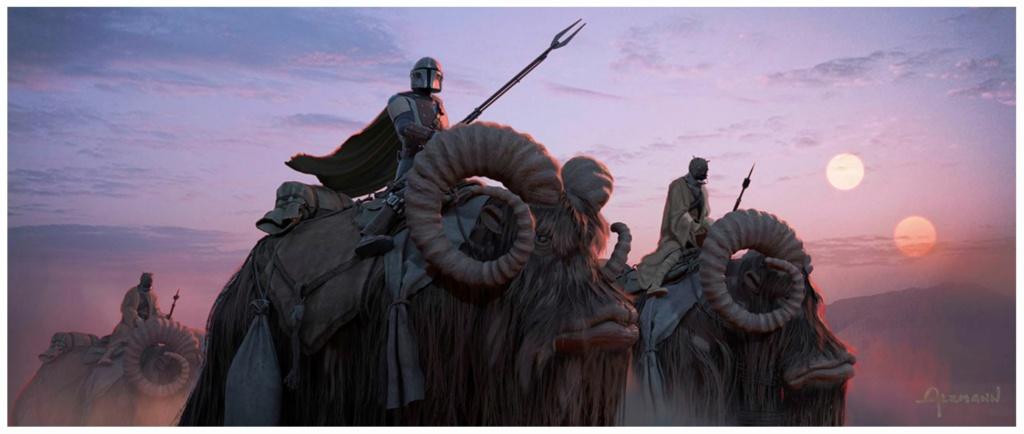Star Wars The Mandalorian - Les Concepts Art de la saison 2 02_all10