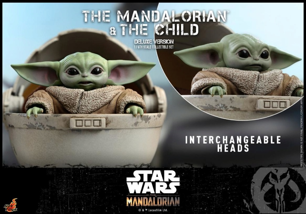 The Mandalorian & The Child Set - 1:6 - Hot Toys Star Wars 0324