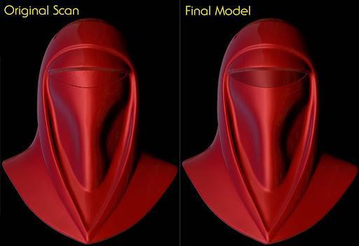 Imperial Royal Guard Helmet Accessory Star Wars ANOVOS - USA 0326