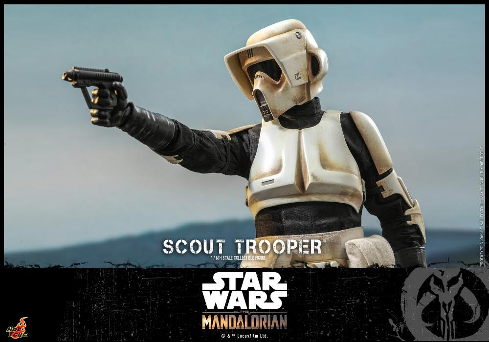 Scout Trooper Collectible Fig - 1/6 - Mandalorian Hot Toys 0328