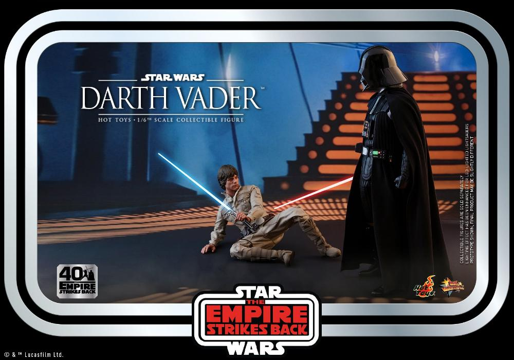 Darth Vader The Empire Strikes Back - 1/6th scale Hot Toys  0333