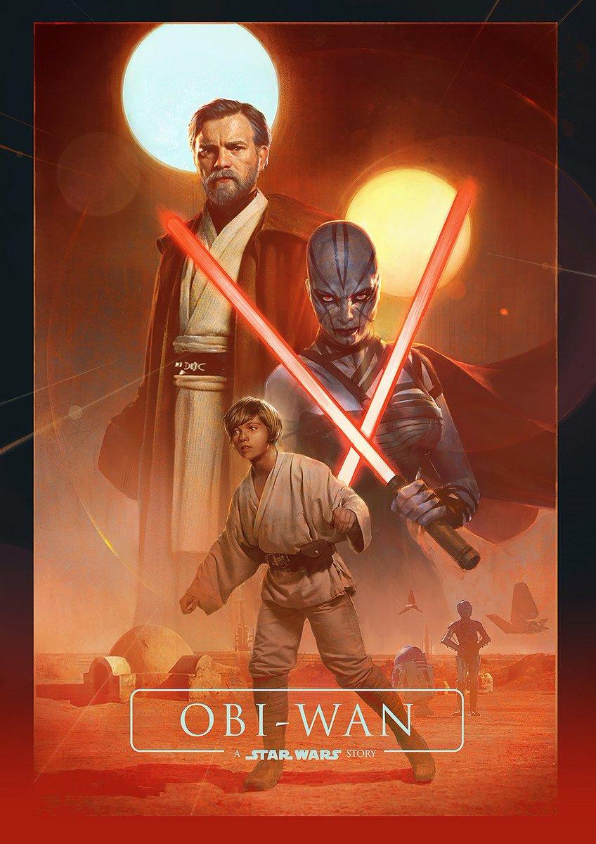 Teaser Trailer Poster Video FanMade Star Wars Kenobi 0335