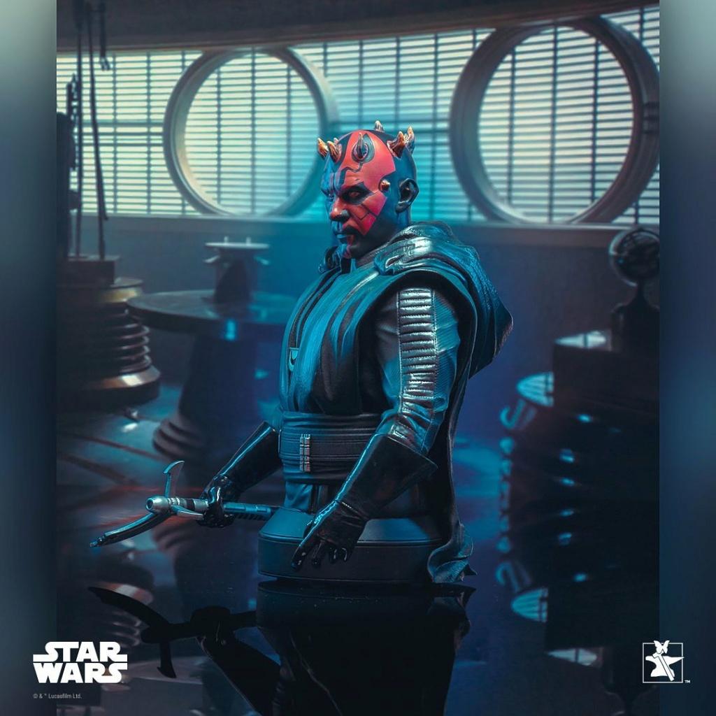 Dark Maul Solo A StarWars Story Mini Bust - Gentle Giant 0337
