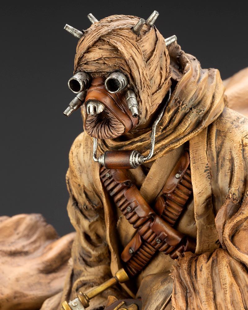 Tusken Raider Barbaric Desert Tribe ARTFX Artist Kotobukiya 0339