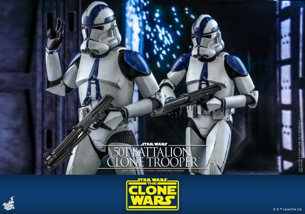501st Battalion Clone Trooper - The Clone Wars - Hot Toys 0341