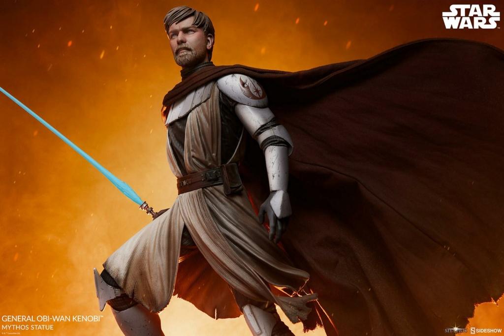 General Obi-Wan Kenobi Mythos Statue - Sideshow 0344