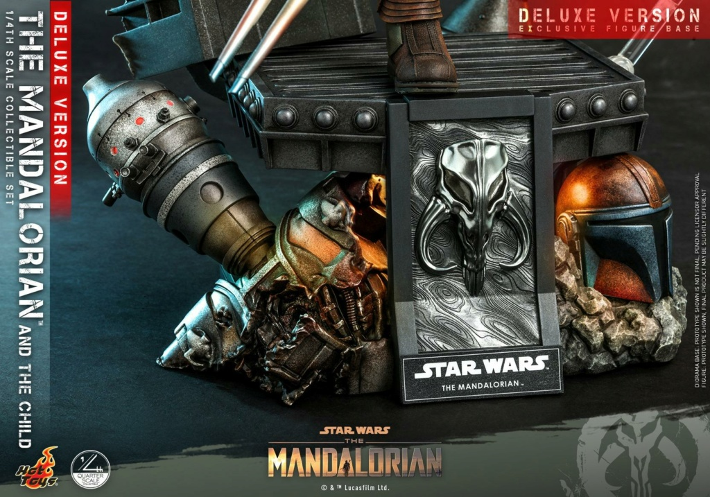 The Mandalorian & The Child Set (Deluxe) 1/4th - Hot Toys 0351
