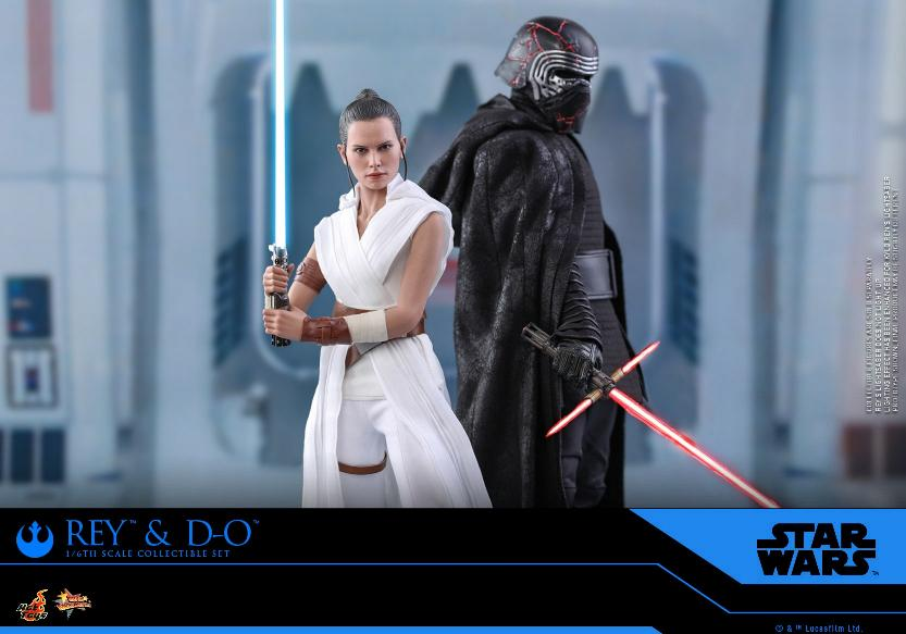 Rey & D-O Collectible Set - The Rise of Skywalker - Hot Toys 0419