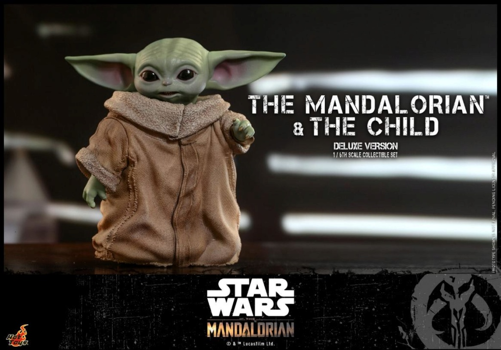 The Mandalorian & The Child Set - 1:6 - Hot Toys Star Wars 0421